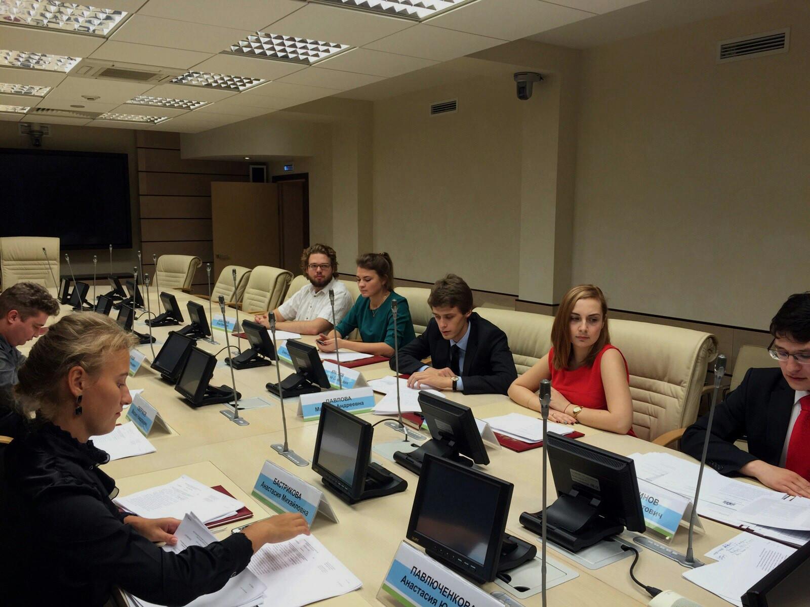 Итоги выборов 2015 в Молодежный парламент Свердловской области